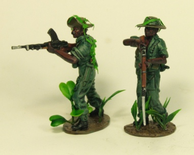 Divisional Scouts with foliage