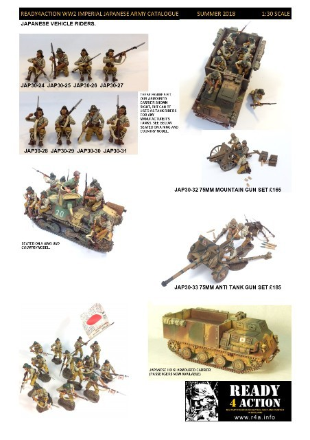 Ready4Action Minatures - Imperial Japanese Army 1:30